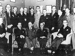 Missão de professores franceses reúne-se em 1934 durante a fundação da USP