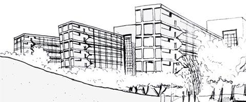 Ilustração: Scarlet Medeiros (5º ano de arquitetura - FAU/USP)