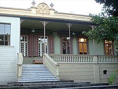 Fachada da casa de Dona Yayá (foto: Vanessa Maeji)