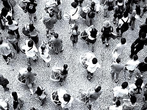 Maracatu da FAU (foto: Fernando Stankuns)