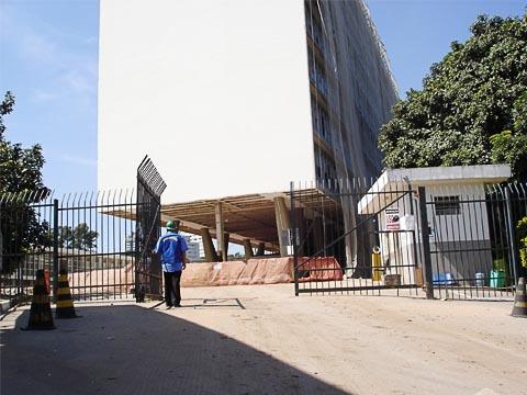 Atraso na reforma adia transferência do MAC-USP para o prédio do Detran (foto: Hugo Neto)