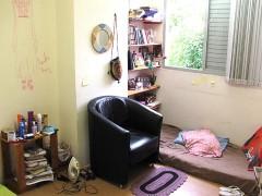Interior da Coseas ocupada, agora moradia (foto: Stefano Azevedo)