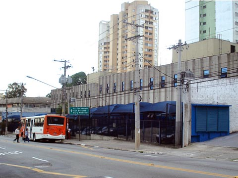 Novo prédio da CCS: fora da USP, longe da pauta (foto: Mateus Luiz de Souza)