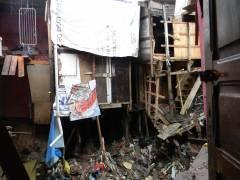 Após destruir casas, chuva deixa sujeira e pessoas desabrigadas na comunidade (foto: Ana Maria Madeira)