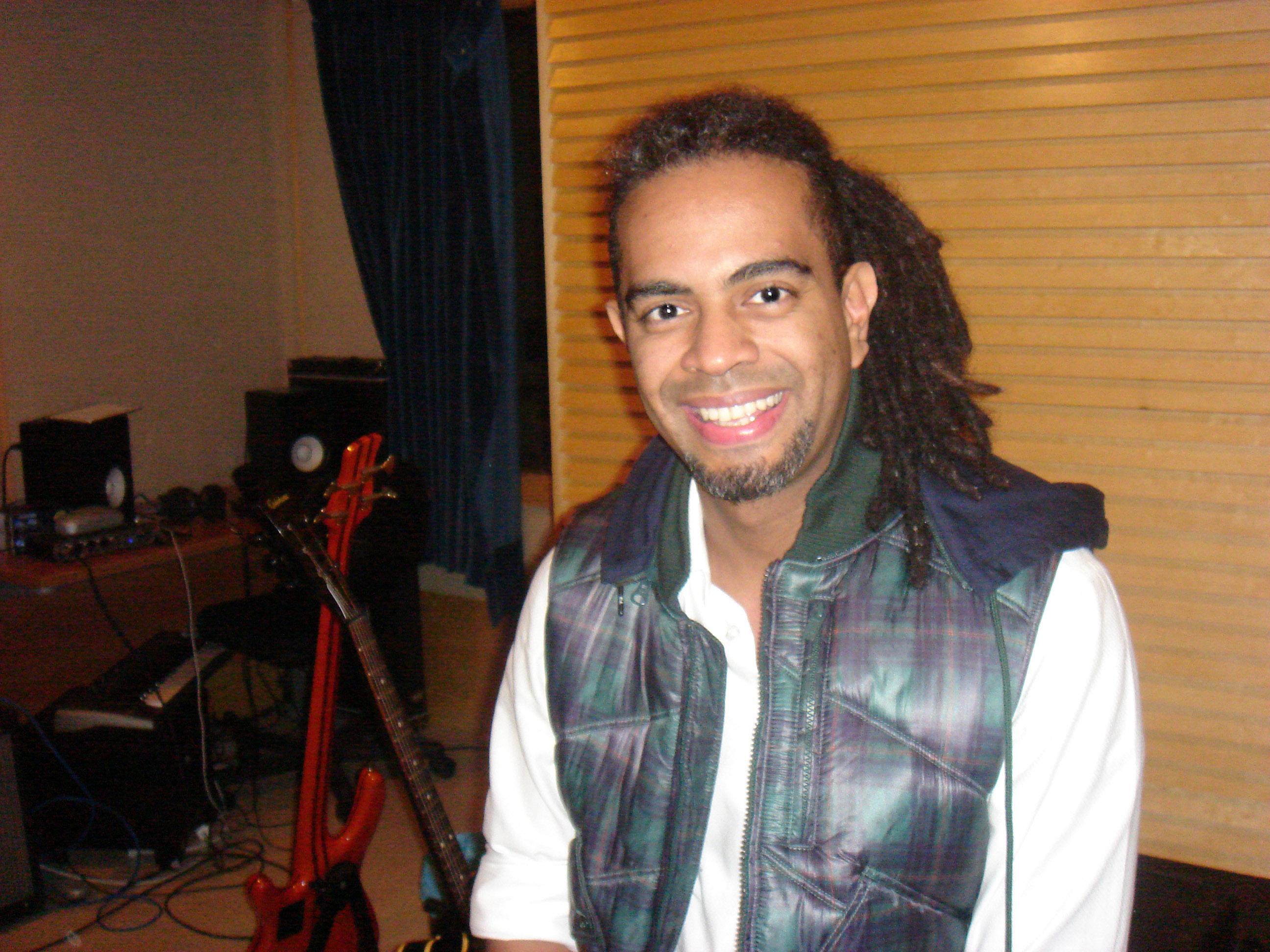 Filho do cantor Jair Rodrigues realiza shows-workshop na USP (foto: Patricia Ogando)
