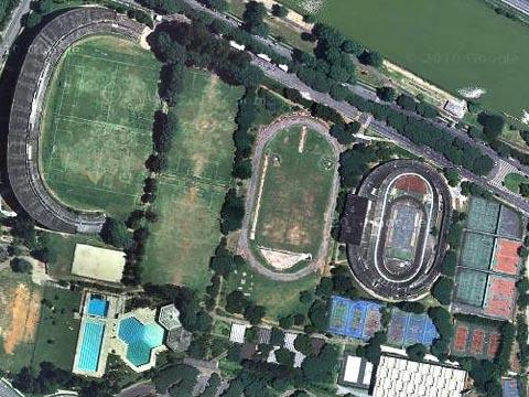 Imagem aérea mostra as instalações do Cepe (foto: Reprodução/Google Maps)
