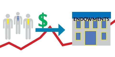O objetivo inicial dos endowments é reunir a quantia de R$25 milhões até o fim de 2012 com doações de pessoas físicas e jurídicas