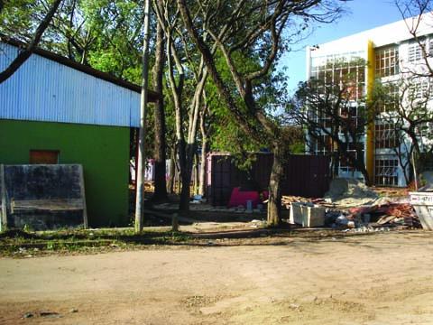 Área dos barracões será alvo de reformas nos próximos anos - projeto custará R$ 240 milhões aos cofres públicos (foto: Bruno Capelas)