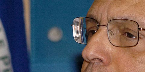 Com a palavra, o reitor João Grandino Rodas (foto: USP Imagens)