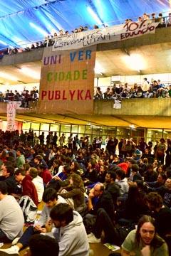 Realizada em 17 de novembro, a Assembleia definiu calendário de atividades (foto: Rafael Nascimento de Carvalho)