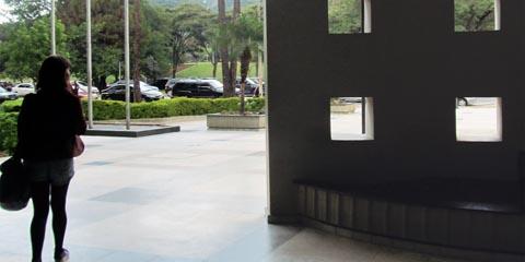 A implantação de catracas para identificação de quem entra na FEA é um dos eixos do Plano de Segurança da unidade (foto: Nana Soares)
