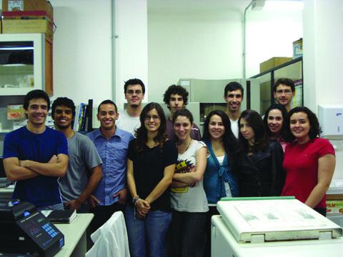 Estudantes conseguiram pagar a inscrição no iGEM com crowdfunding (foto: Juliana Mendonça Santos)