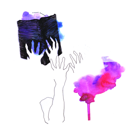 """""""Ao lidar com o livro, haverá sempre a necessidade do crucial retorno à sua motora matéria prima: a arte"""" - Leonardo Mathias, Ilustrador (imagem: Leonardo Mathias)"""