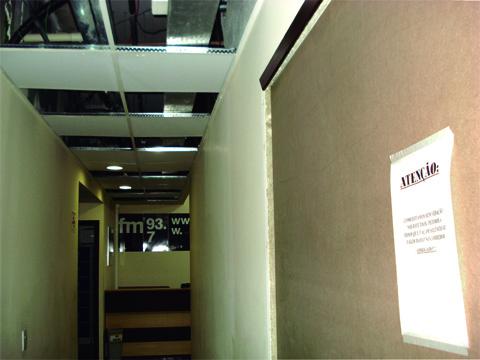 Mesmo com as reformas, Rádio e TV USP continuam no prédio da Antiga Reitoria e aguardam transferência para sede definitiva.