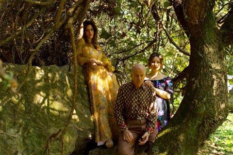 O Jardim explora a memória humana tanto na forma como no conteúdo da peça (foto: Divulgação)