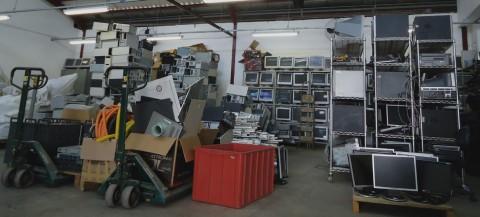 """""""O foco no Cedir é mais o reuso do que a reciclagem"""", diz Neuci. (Foto: Gregório Nakamotome)"""
