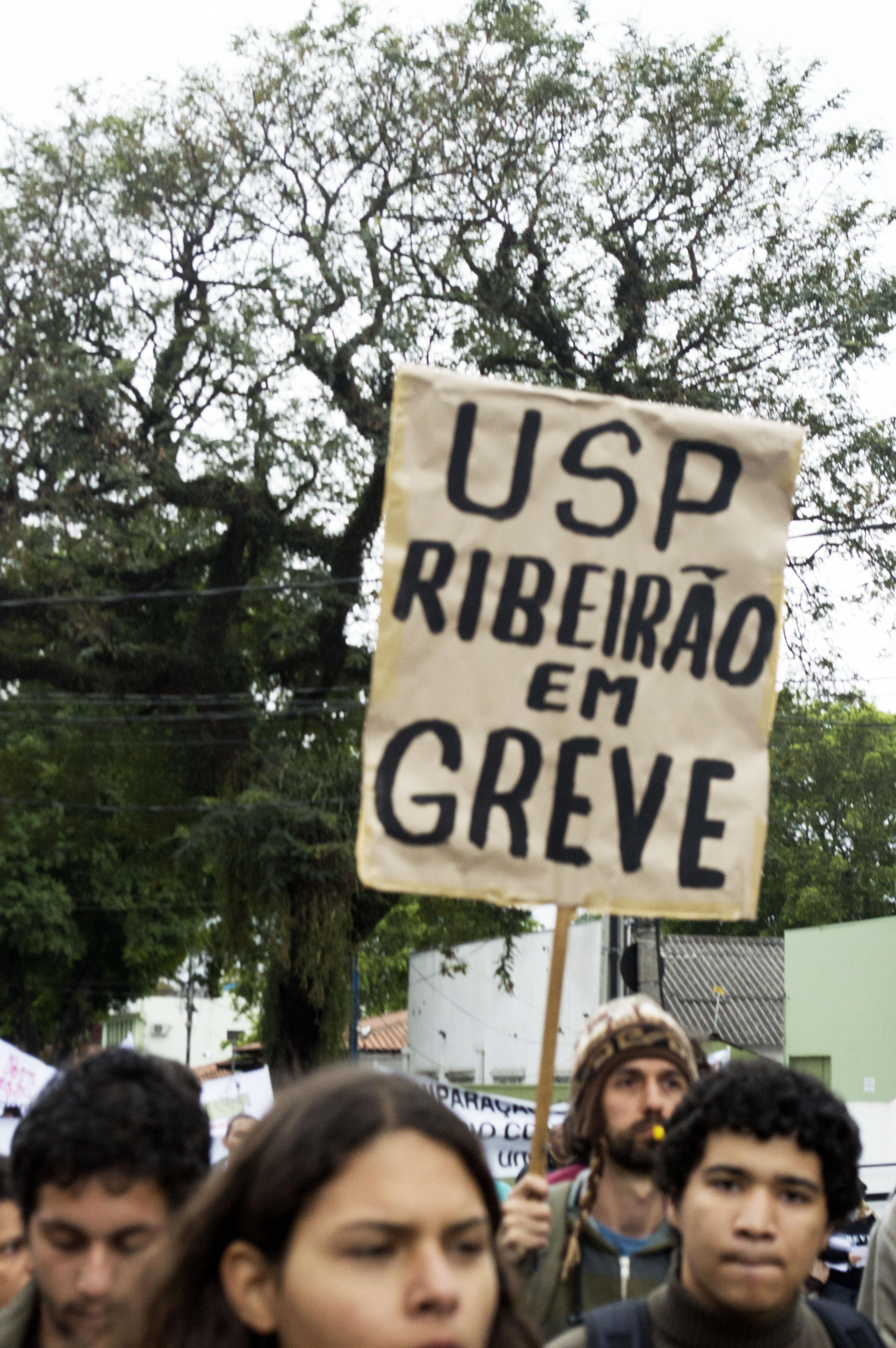 USP Ribeirão em Greve