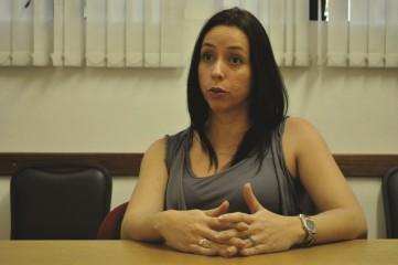 Viviane Cubas, pesquisadora do Núcleo e Estudos da Violência (Foto: Matheus Pimentel)