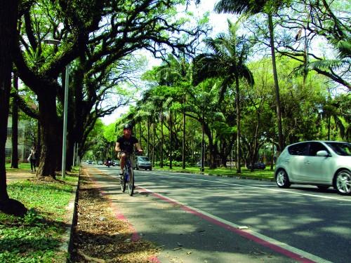 Cidade Universitária pretende atender os ciclistas para além das ciclovias