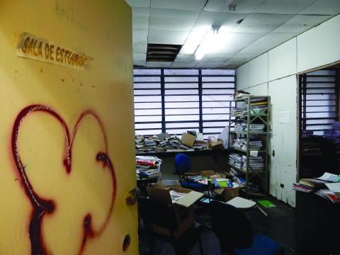 Instalações do Núcleo de Consciência Negra (Foto: Leonardo Dáglio)