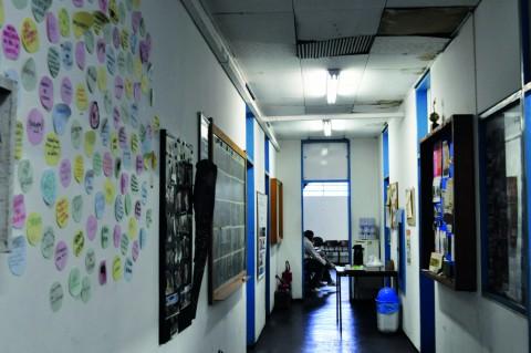 Sede da Incubadeira Incubadora Tecnológica de Cooperativas Populares (ITCP), na Cidade Universitária. Foto: Paula Mesquita