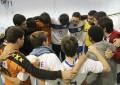 Equipe de handebol masculino do CAASO deixou a Copa USP (Foto: Paula Thiemy)