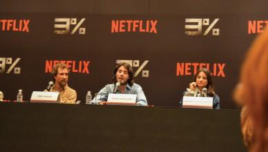 Netflix promove coletiva de imprensa para a estreia de 3% com criadores, produtores e elenco presentes